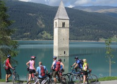 Tower in The Lake - Reschenpass, Italy